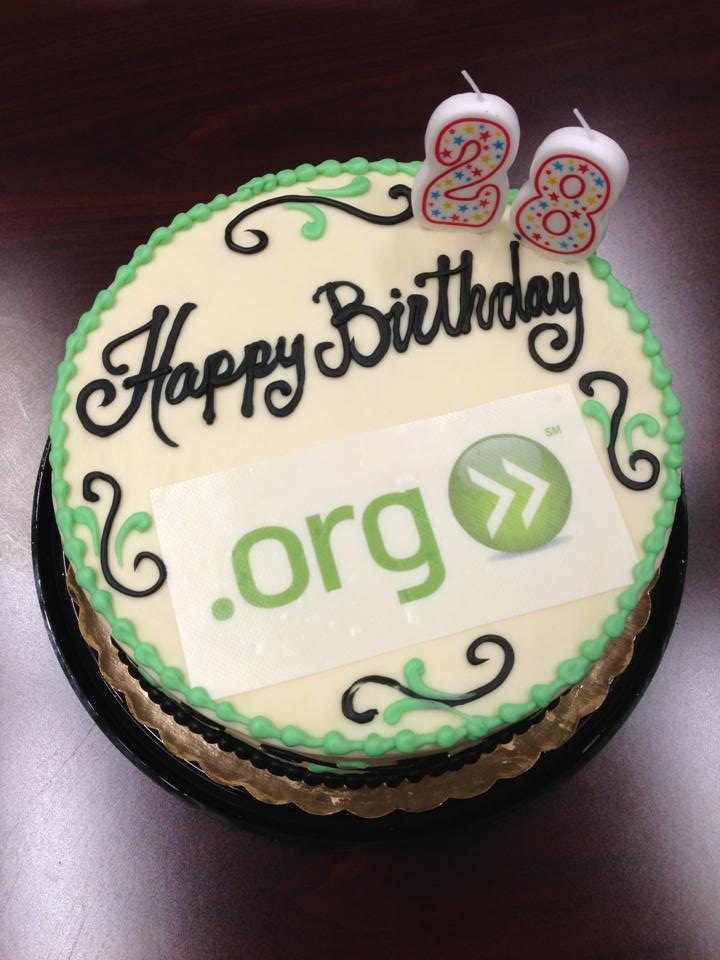 Happy 28th Birthday to .ORG!